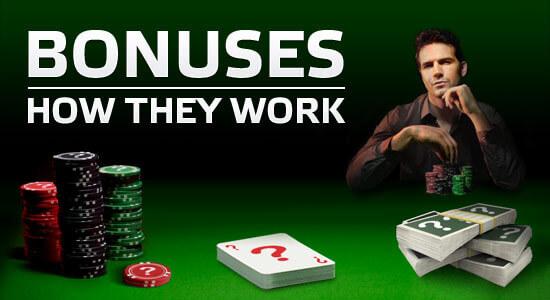 How does a Poker Bonus work?
